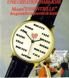 Montre Hara-Kiri – 1985