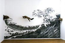La vague de l'océan